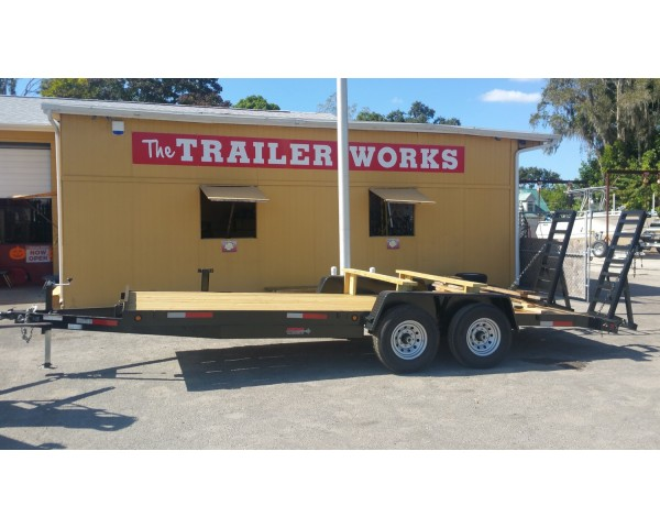 Caliber Car Hauling Trailers